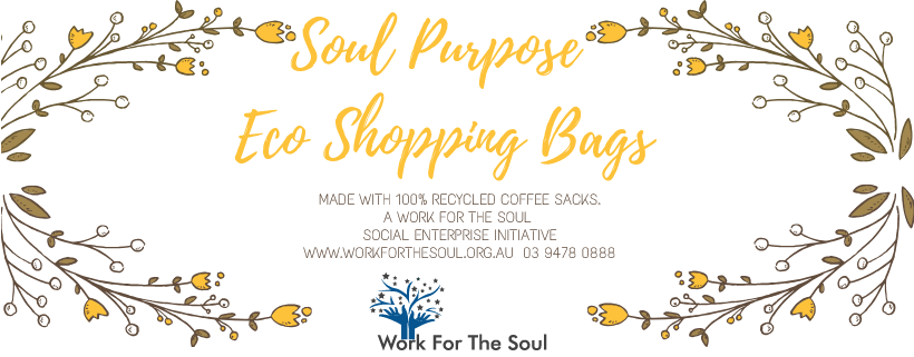 Soul Purpose Eco Shopping Bags with logo 2